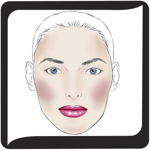 схема минерального макияжа