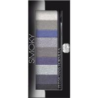 Набор из 9-ти теней с кисточкой Custom Eye Enhancing Shadow & Liner Smoky