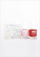 Набор из трех лаков для детей + наклейки на ногти /Ballerina Beauty Trio Kits with decals