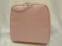 Большая розовая косметичка