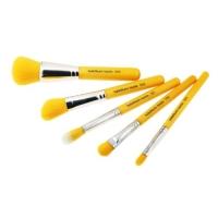 Набор кистей  с бамбуковой ручкой Yellow (5 шт.)