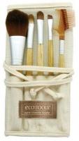 Набор кистей  с бамбуковой ручкой (5 шт.) Ecotools
