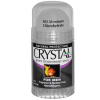 Мужской дезодорант-стик для тела, без запаха Crystal Body Deodorant, Fragrance Free