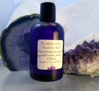 Ароматное веганское массажное масло Ваниль Flavored Vegan Massage Oil and Personal Lubricant  French Vanilla