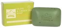 Африканское мыло с оливой и зеленым чаем